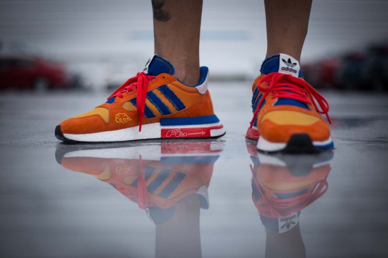 adidas Originals x《Dragon Ball Z》聯名 ZX500 RM「Goku」上腳預覽