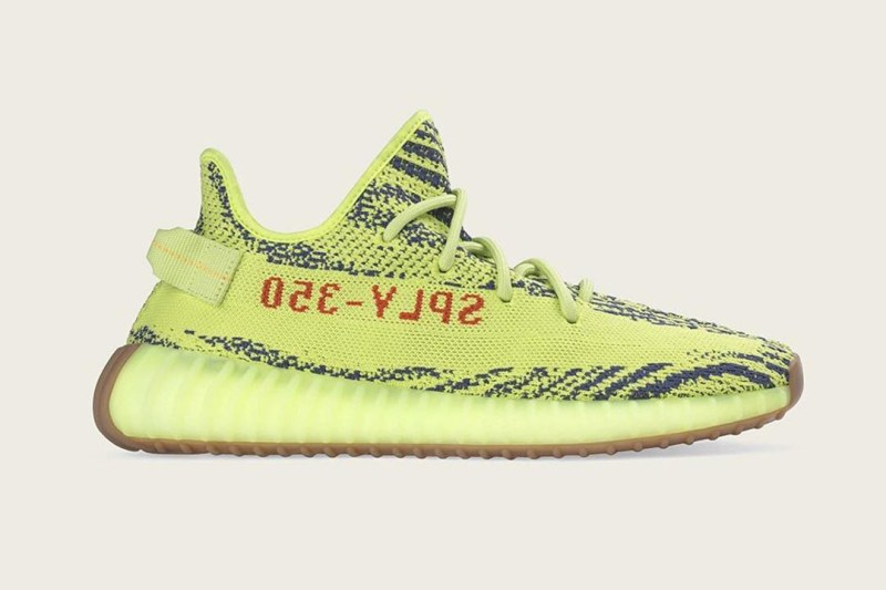 YEEZY BOOST 350 V2 人氣配色「Semi Frozen Yellow」補貨日期確認
