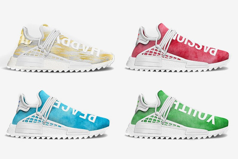 Pharrell x adidas Originals Hu NMD 全新中國限定系列曝光