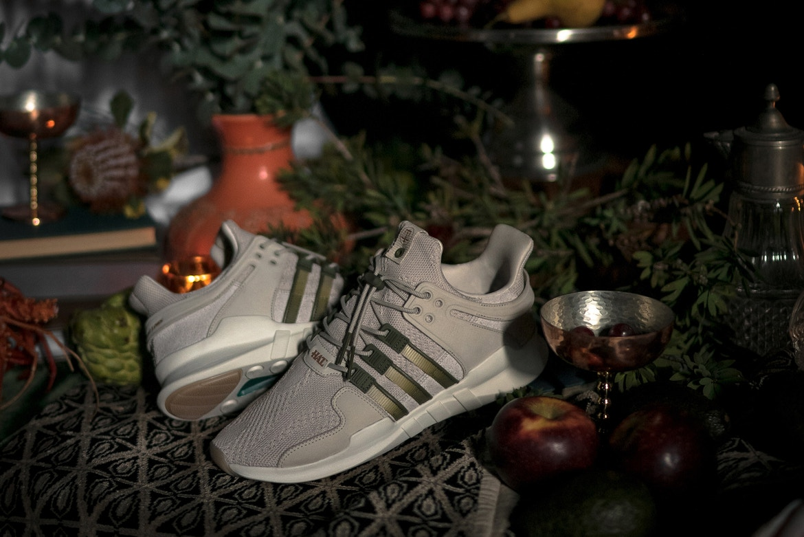 adidas Consortium x Highs and Lows 聯名 EQT Support ADV 鞋款