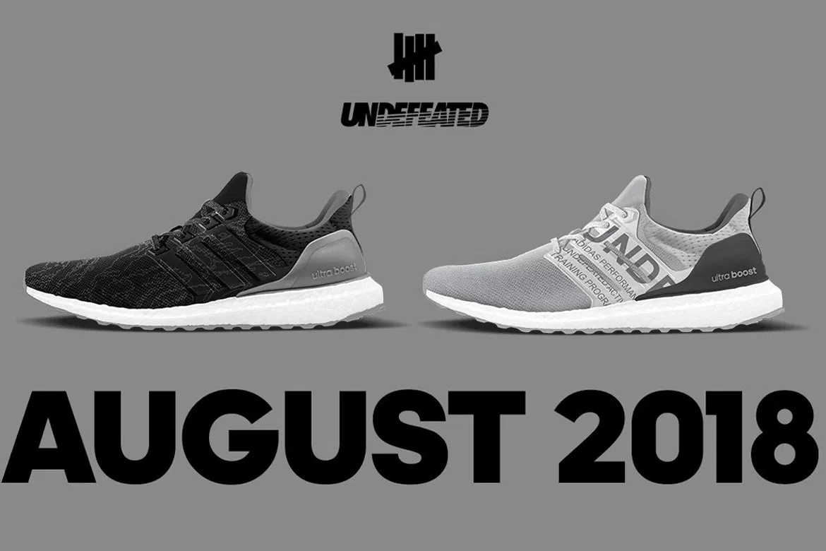UNDEFEATED x adidas UltraBOOST 全新聯名鞋款曝光