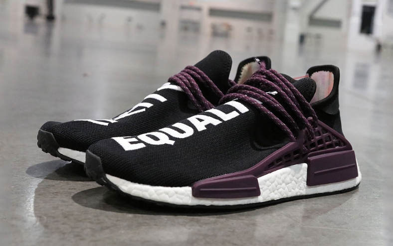 Pharrell x adidas Originals Hu NMD Trail 全新「Black Canvas」配色