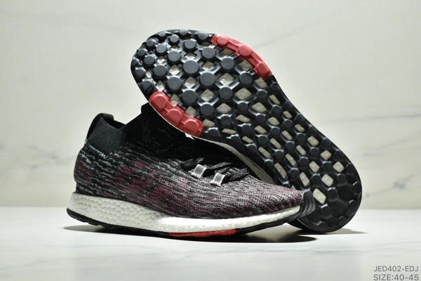 2635766f04aa8141925e8a1305e123c3 - Adidas Pure BOOST Element 2019爆米花跑鞋 黑紅