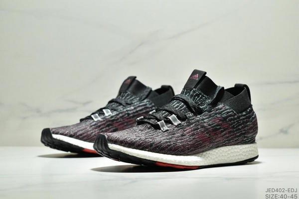 459f66e37364c7b1801616f74e035e0b - Adidas Pure BOOST Element 2019爆米花跑鞋 黑紅