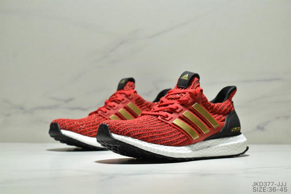 dcb7b9aec57fa607705837f1b5b0dad4 - Adidas Ultra Boost Game of Thrones 爆米花系列 UB4.0 針織跑鞋 紅黑金