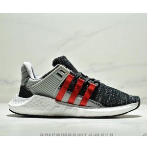 041824e46a49bb08 300x300 - Adidas EQT Support Boost 93/17 EQT 針織跑步鞋 黑灰紅