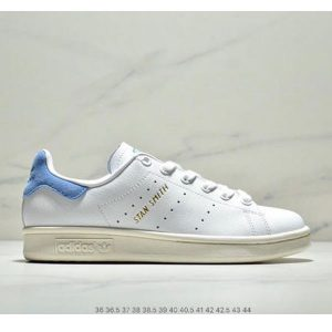 08377cc6c4470ef7 300x300 - Adidas Stan Smith  史密斯 頭層皮 S75074 白藍