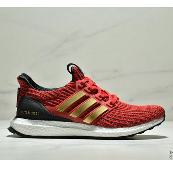 Adidas Ultra Boost Game of Thrones 爆米花系列 UB4.0 針織跑鞋 紅黑金