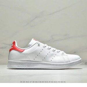 a696db13a58e5b2a 300x300 - ADIDAS STAN SMITH 史密斯 休閒小白鞋 白紅